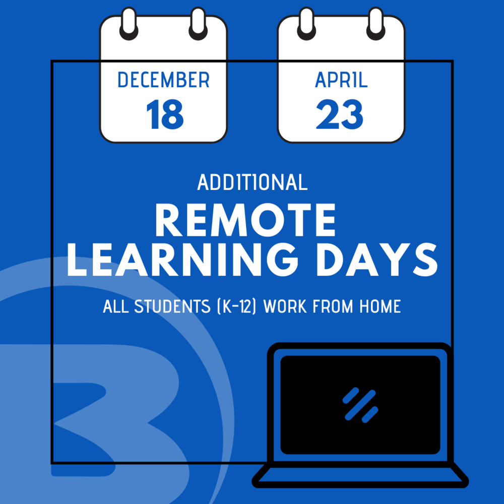 Remote Learning Days Added to School Calendar