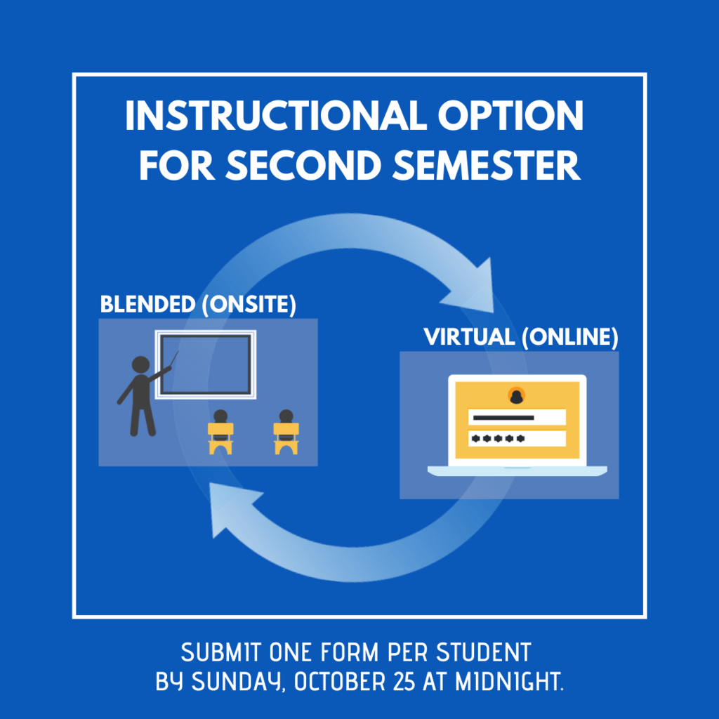 Instructional Option 2nd Semester