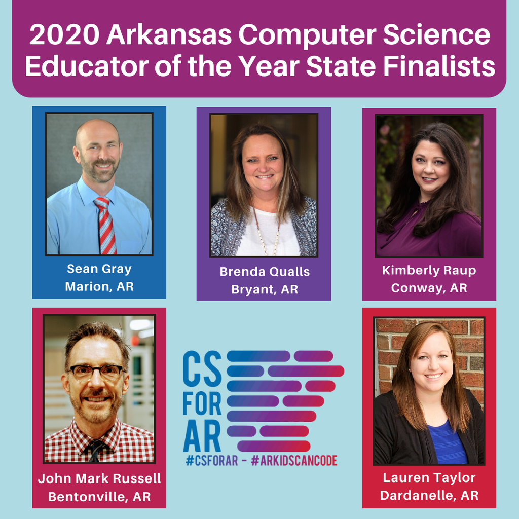 AR Computer Science Educators of the Year