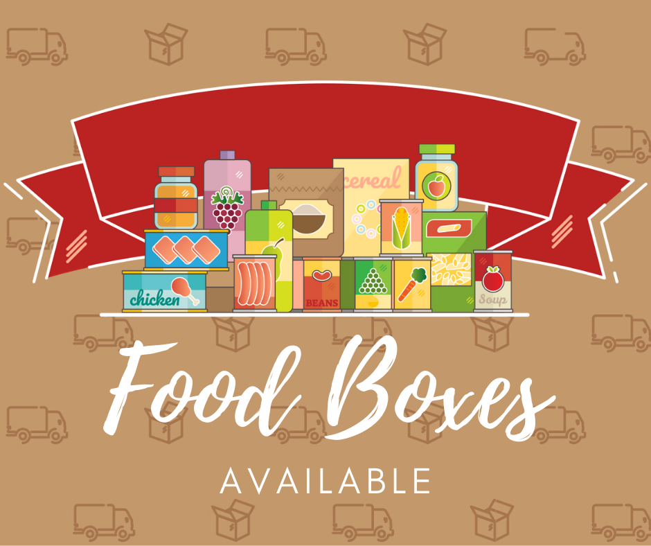 Food Boxes Available